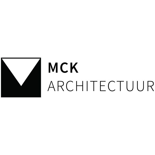 MCK logo design including name black